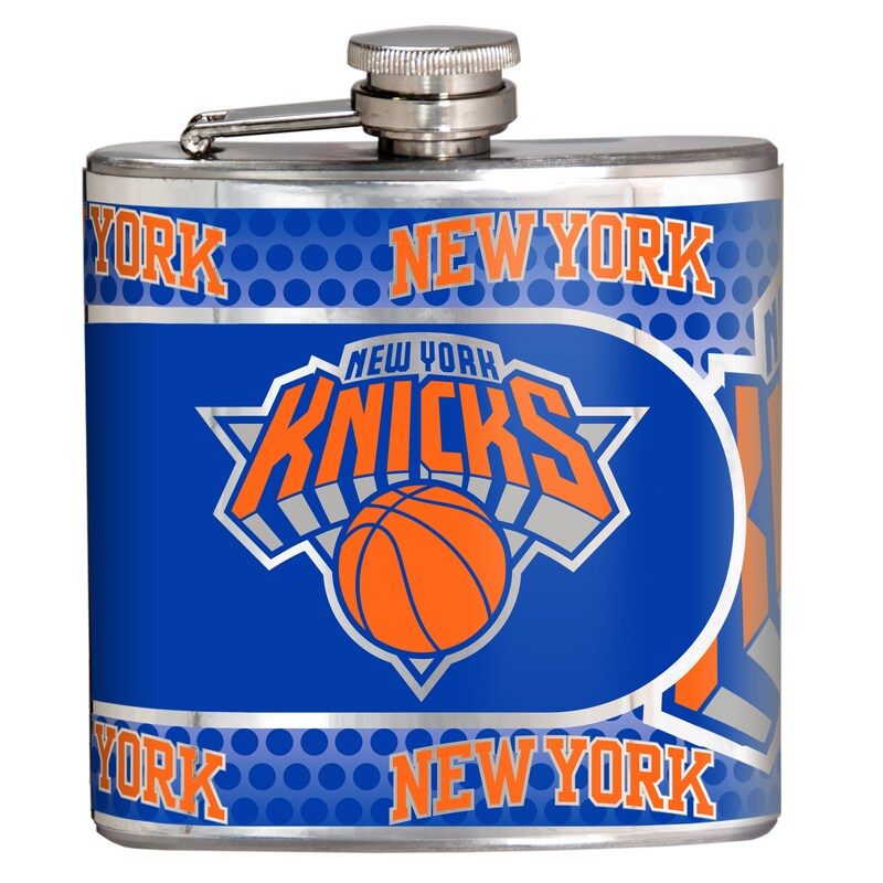 New York Knicks 6oz. Stainless Steel Hip Flask - Silver