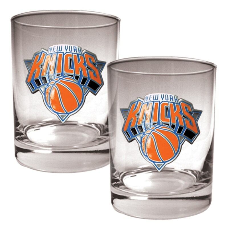 New York Knicks 14oz. Rocks Glass Set