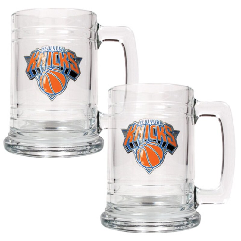 New York Knicks 2-Piece 15oz. Tankard Set