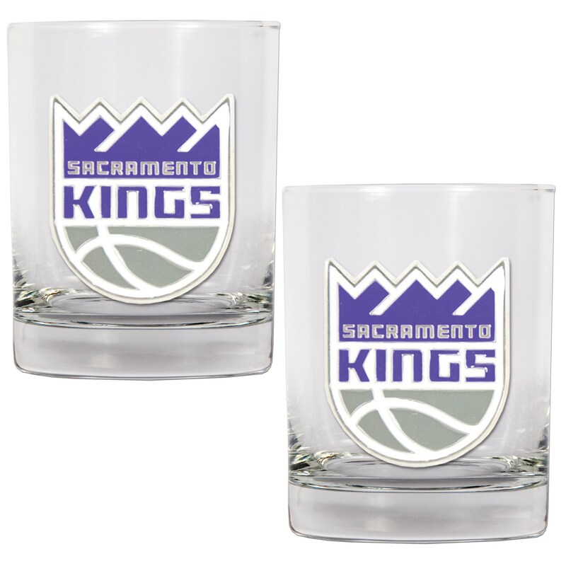 Sacramento Kings 14oz. Rocks Glass Set