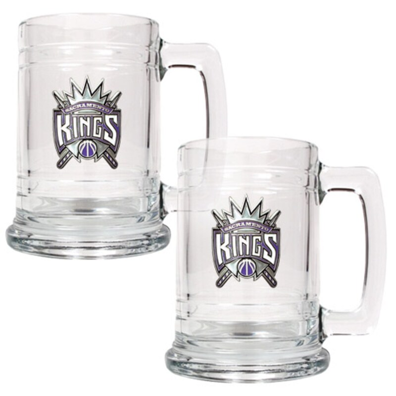 Sacramento Kings 2-Piece 15oz. Tankard Set