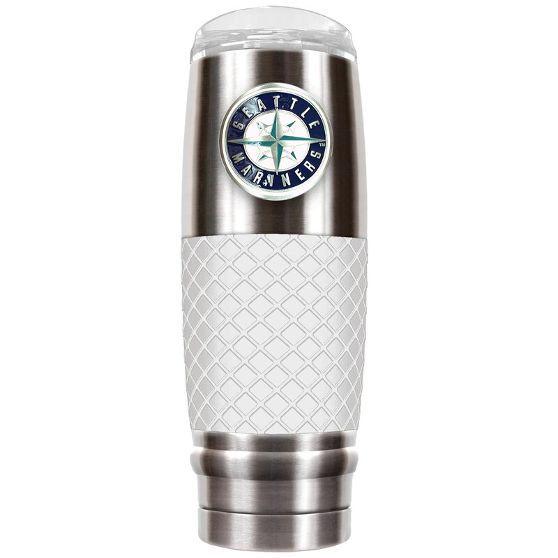 Seattle Mariners 30oz. The Reserve Vacuum-Insulated Travel Tumbler - Gray