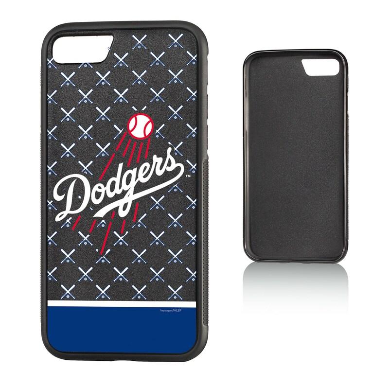 Los Angeles Dodgers iPhone 7/8 Team Stripe Bump Case