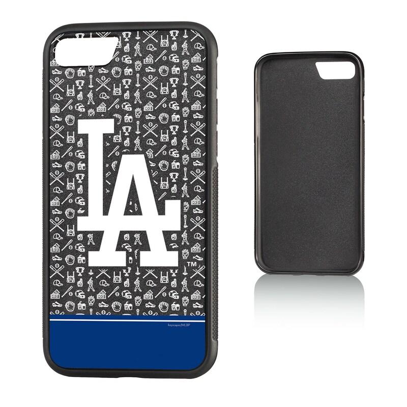Los Angeles Dodgers iPhone 7/8 Stripe Alternate Bump Case