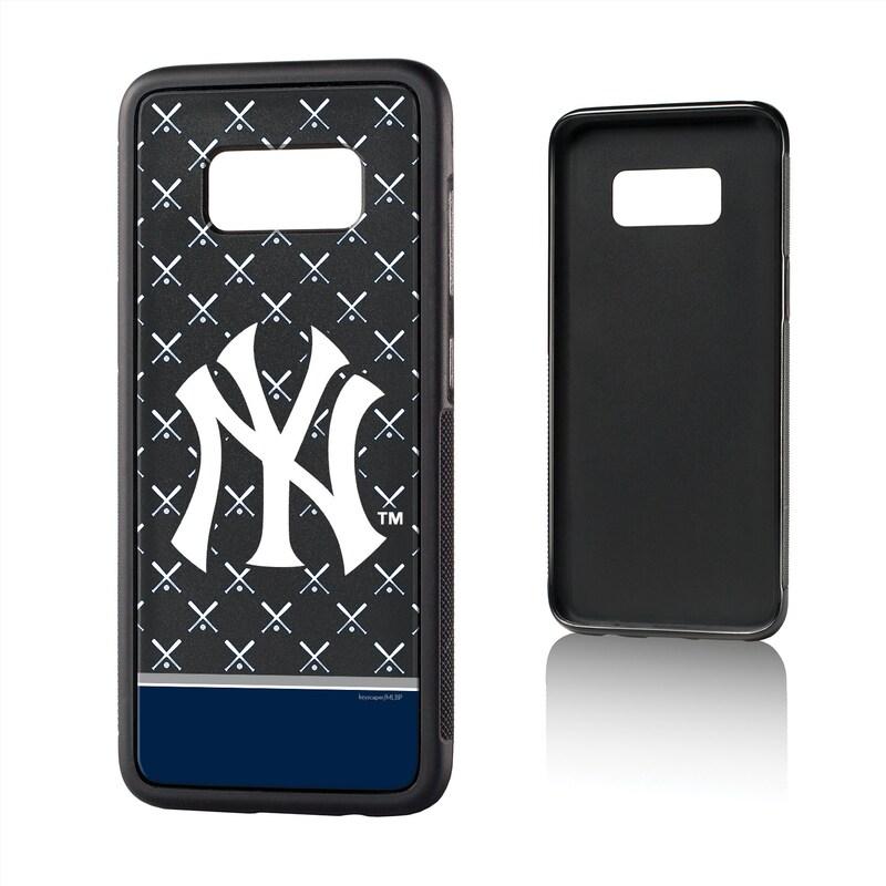 New York Yankees Galaxy S8 Stripe Bump Case