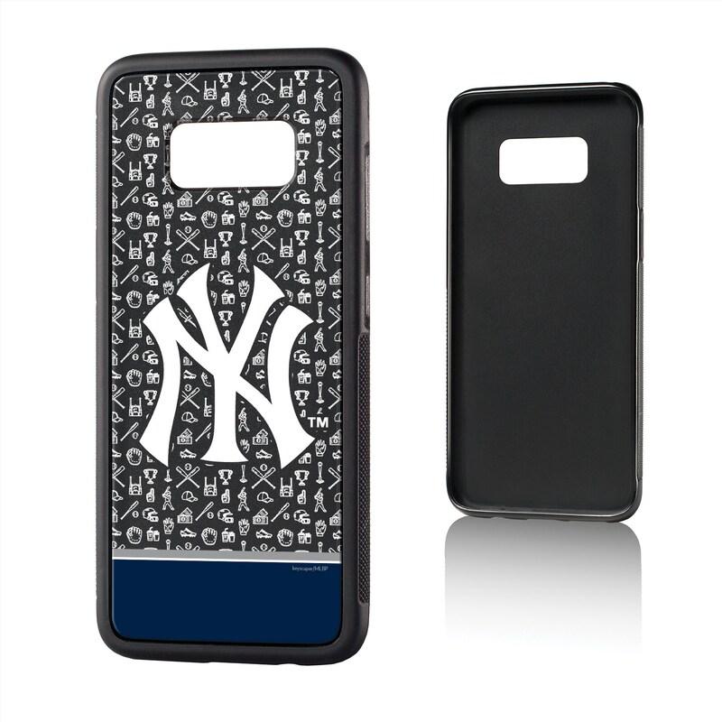 New York Yankees Galaxy S8 Stripe Logo Bump Case