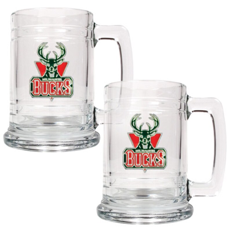 Milwaukee Bucks 2-Piece 15oz. Tankard Set