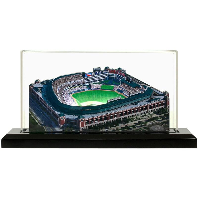 "Texas Rangers 19"" x 9"" Rangers Ballpark at Arlington Light Up Replica Ballpark"
