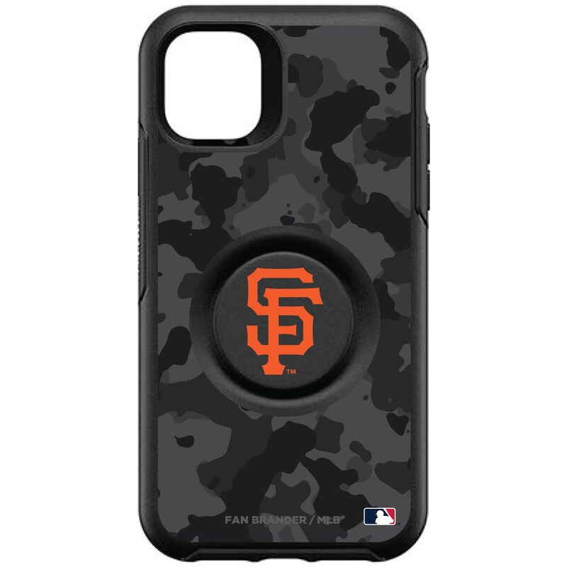 San Francisco Giants OtterBox Otter + Pop Urban Camo Design Symmetry iPhone Case - Black