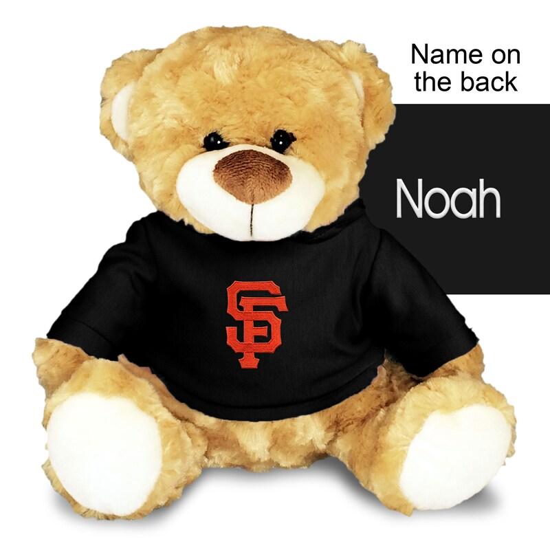 San Francisco Giants 10'' Team Personalized Plush Bear
