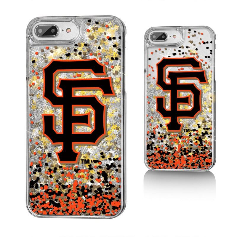 San Francisco Giants iPhone 6 Plus/6s Plus/7 Plus/8 Plus Sparkle Gold Glitter Case