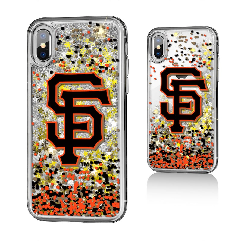 San Francisco Giants iPhone X/Xs Sparkle Glitter Case