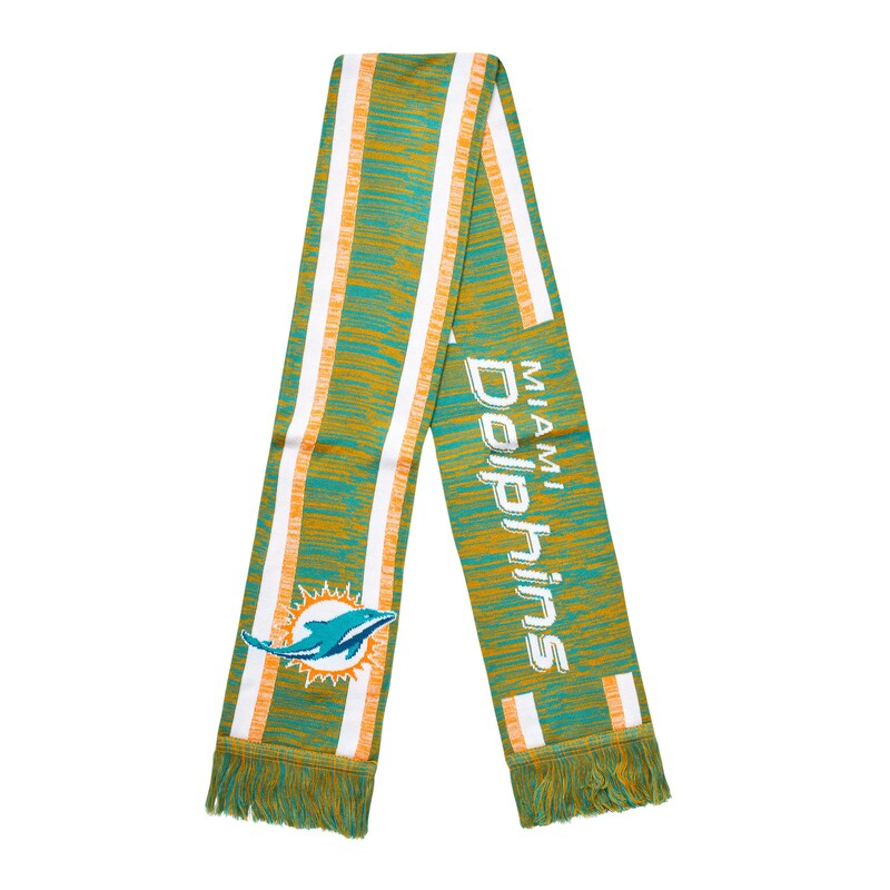 Miami Dolphins Knit Color Blend Scarf
