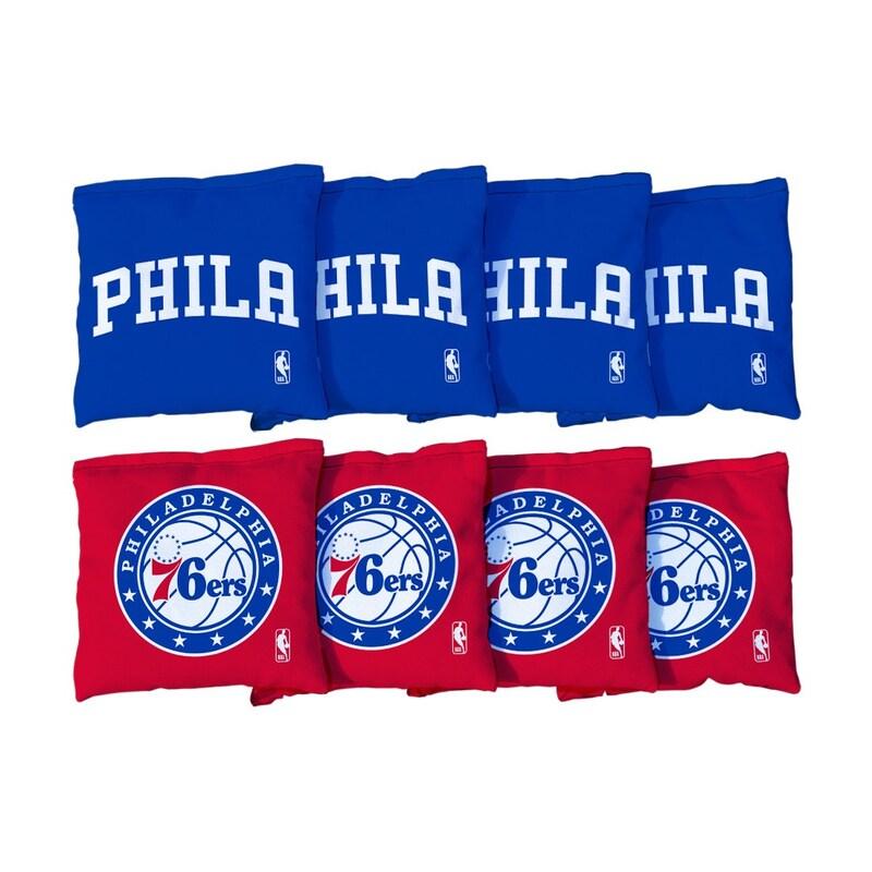 Philadelphia 76ers Replacement Cornhole Bag Set