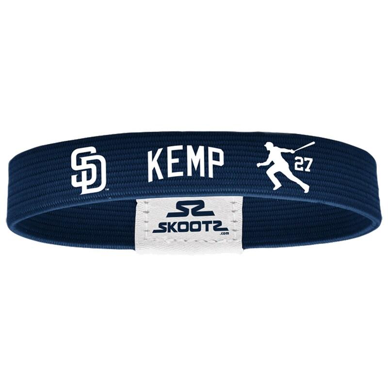 Matt Kemp San Diego Padres Skootz Shadow Bandz - Navy