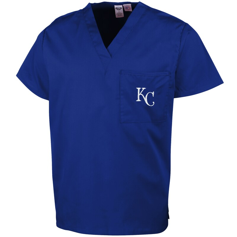 Kansas City Royals Concepts Sport Unisex Scrub Top - Royal