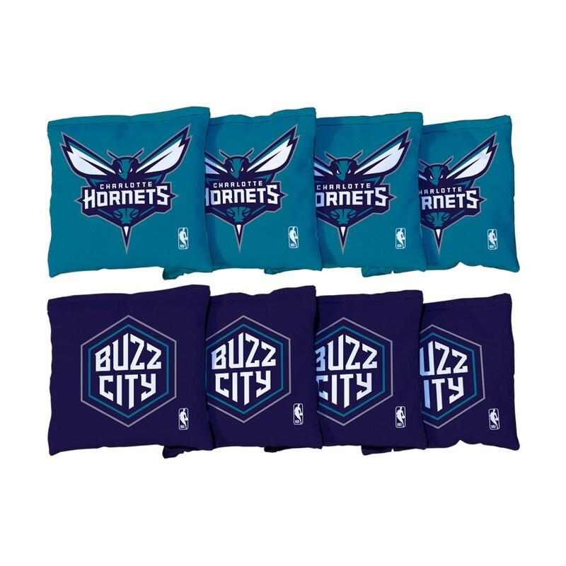 Charlotte Hornets Replacement Cornhole Bag Set