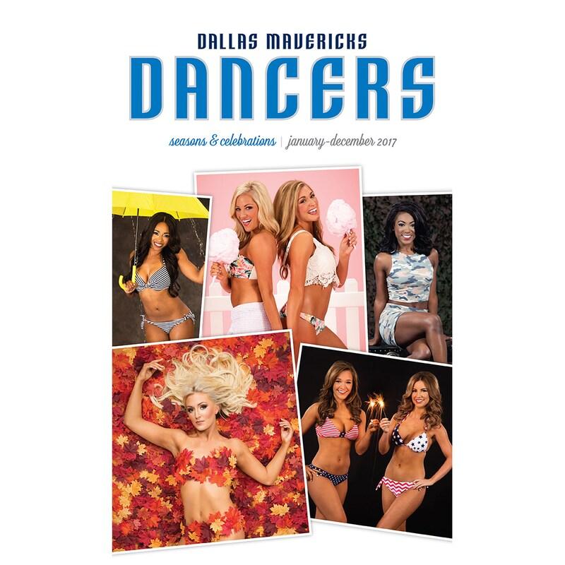 Dallas Mavericks 2017 Dance Calendar
