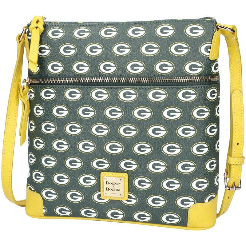 Green Bay Packers Dooney & Bourke Women's Crossbody Purse - Green
