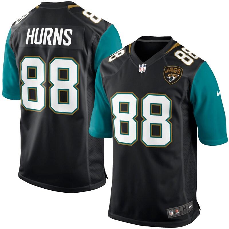 Allen Hurns Jacksonville Jaguars Nike Youth Game Jersey - Black