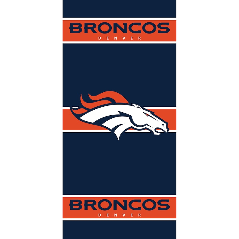 Denver Broncos Imperial 36'' x 80'' Front Door Cover