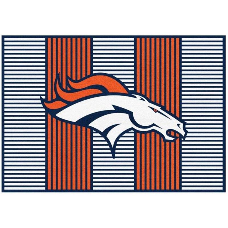 Denver Broncos Imperial 4' x 6' Champion Rug