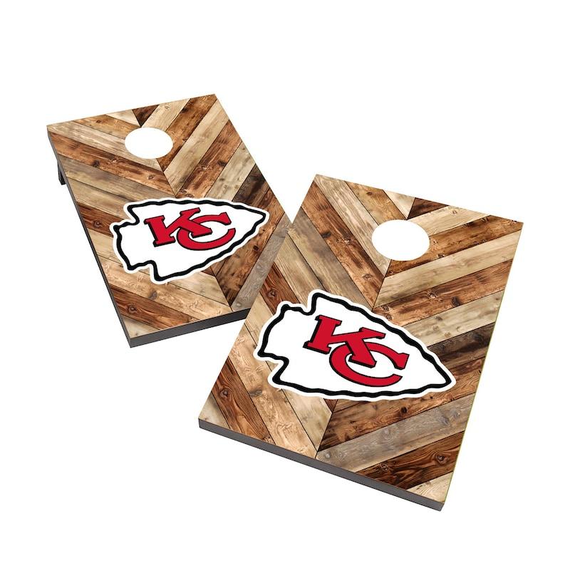 Kansas City Chiefs 2' x 3' Cornhole Board Tailgate Toss Game