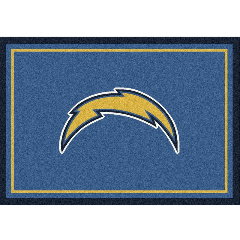 Los Angeles Chargers Imperial 4' x 6' Spirit Rug