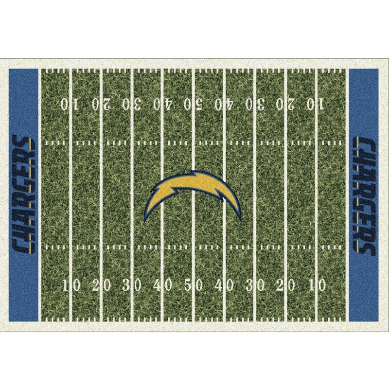 Los Angeles Chargers Imperial 6' x 8' Homefield Rug
