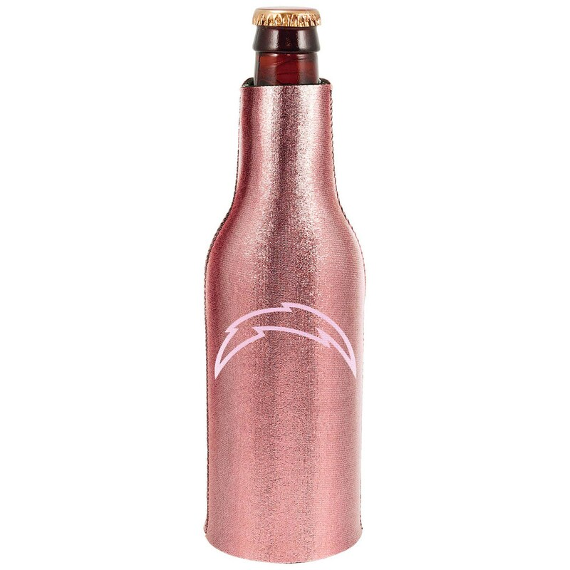 Los Angeles Chargers 12oz. Rose Gold Bottle Cooler