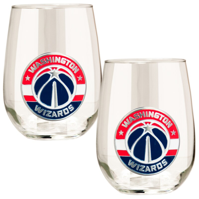 Washington Wizards Stemless Wine Glass Set