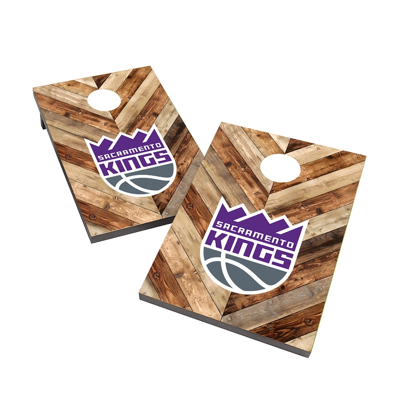 Sacramento Kings 2' x 3' Cornhole Board Tailgate Toss Set
