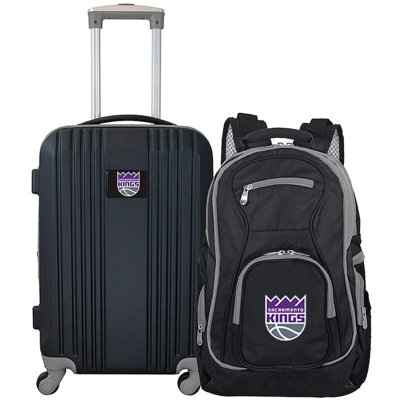 Sacramento Kings 2-Piece Luggage & Backpack Set - Black