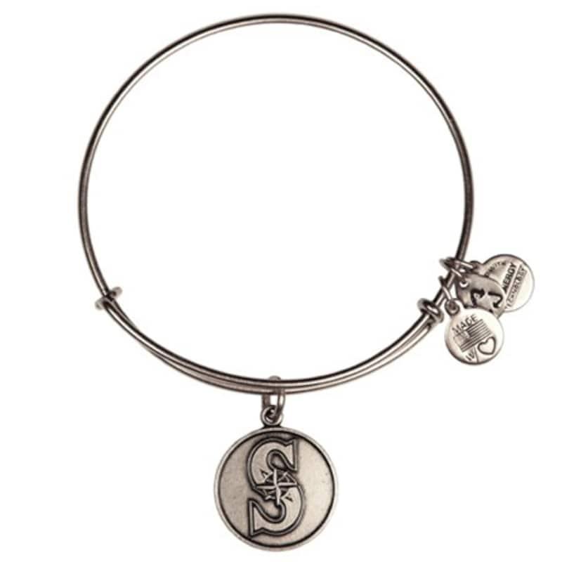 Seattle Mariners Alex and Ani Women's Bracelet - Silver