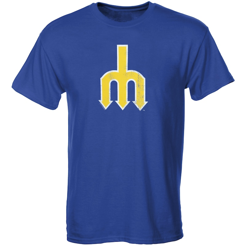 Seattle Mariners Youth Cooperstown T-Shirt - Royal Blue