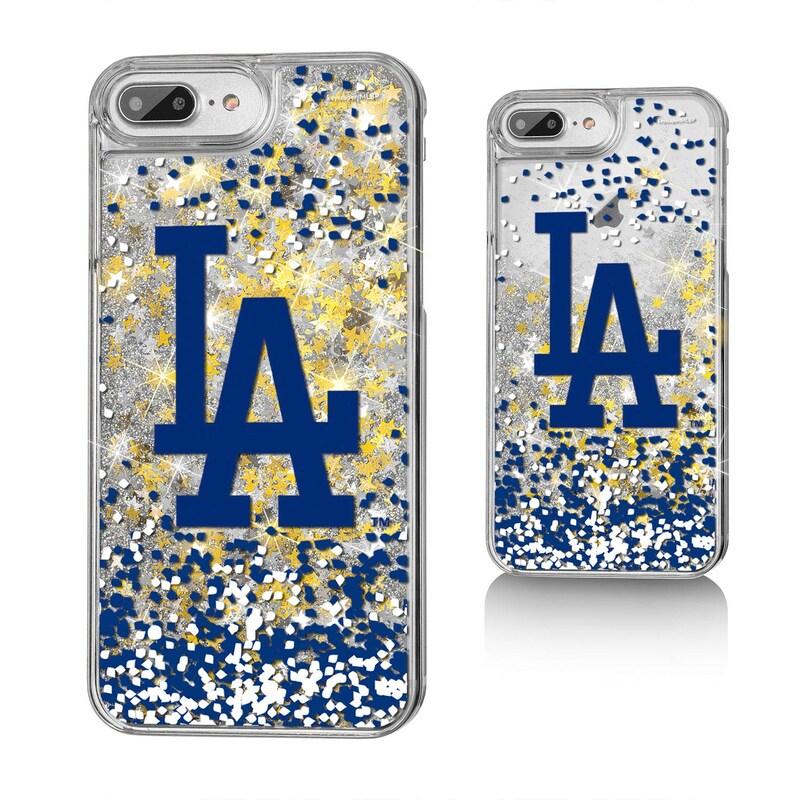 Los Angeles Dodgers iPhone 6 Plus/6s Plus/7 Plus/8 Plus Sparkle Gold Glitter Case