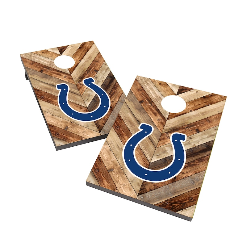 Indianapolis Colts 2' x 3' Cornhole Board Tailgate Toss Game