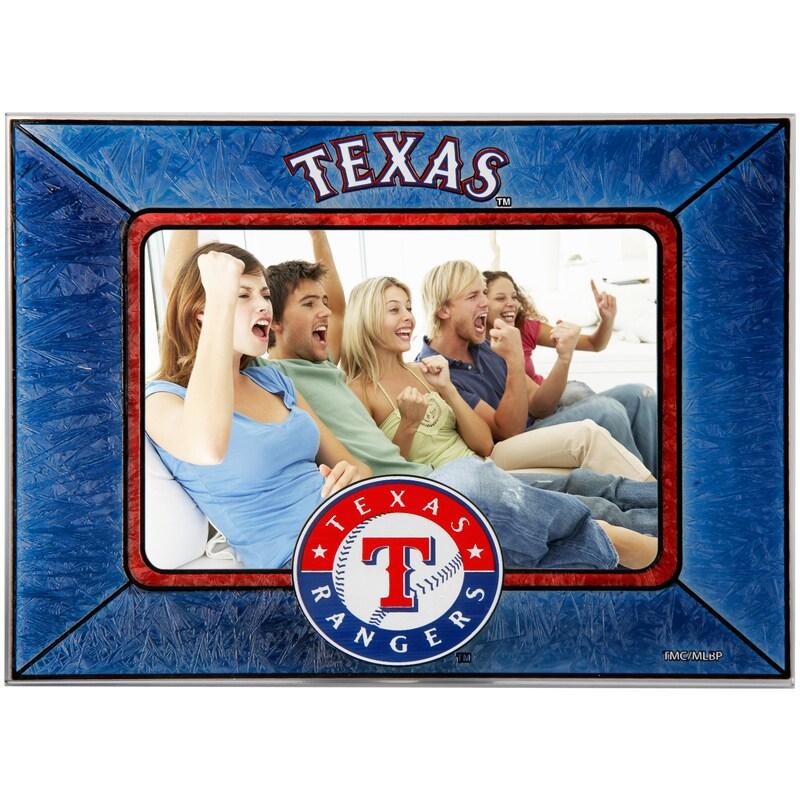Texas Rangers Horizontal Art Glass Frame