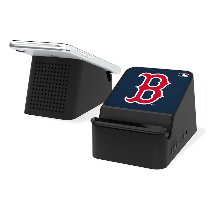 Boston Red Sox Wireless Charging Station & Bluetooth Speaker