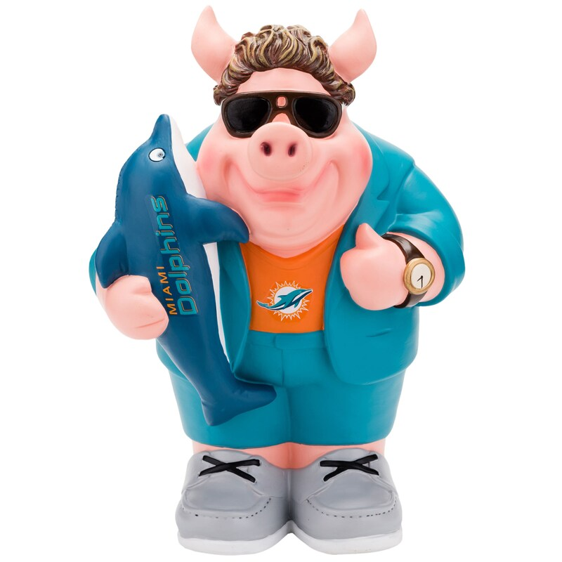 Miami Dolphins Caricature Piggy Bank