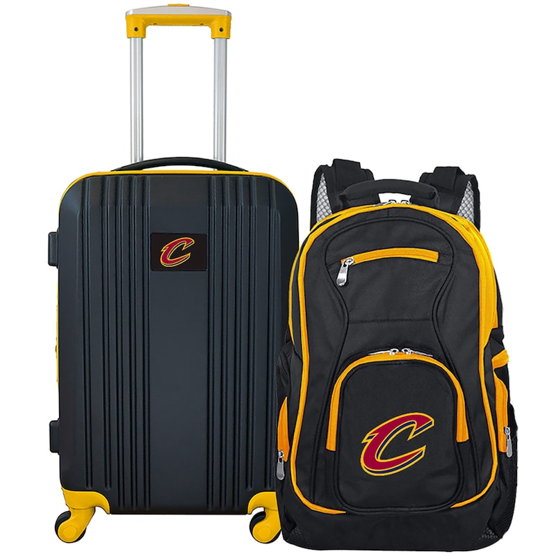 Cleveland Cavaliers 2-Piece Luggage & Backpack Set - Black