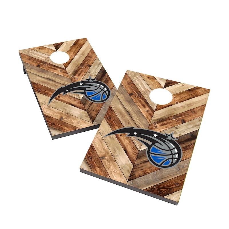 Orlando Magic 2' x 3' Cornhole Board Tailgate Toss Set