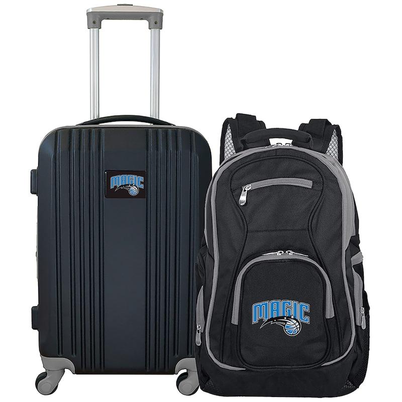 Orlando Magic 2-Piece Luggage & Backpack Set - Black