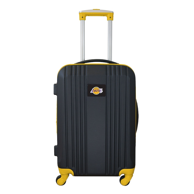 "Los Angeles Lakers 21"" Hardcase Two-Tone Spinner Carry-On - Black"