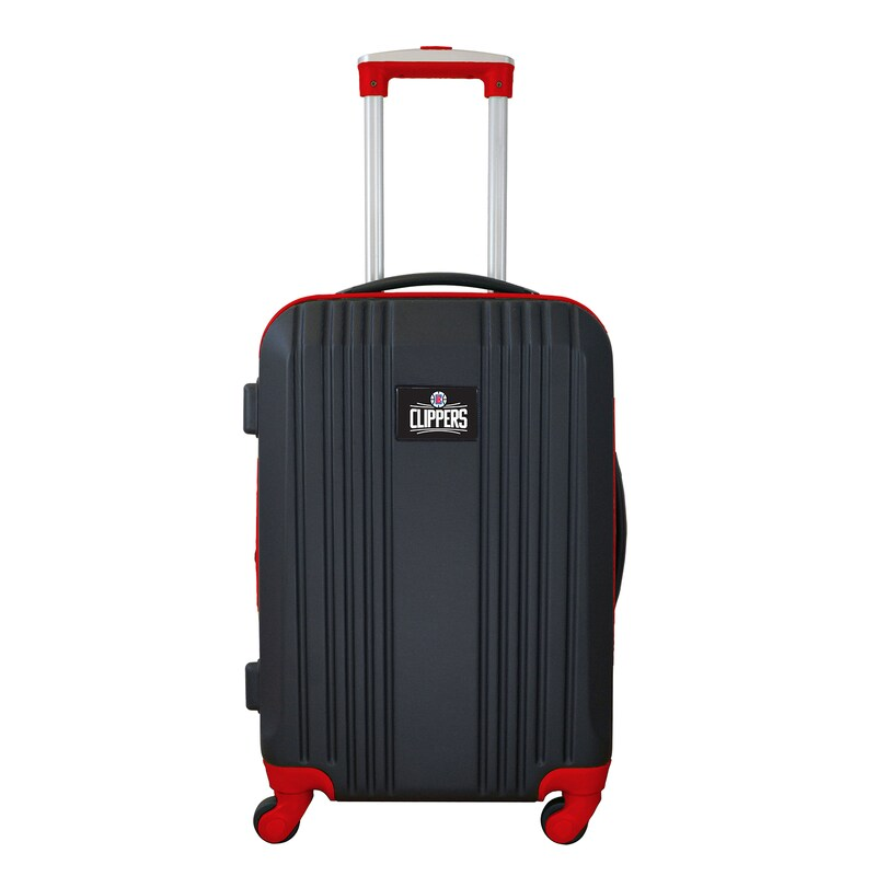 """LA Clippers 21"""" Hardcase Two-Tone Spinner Carry-On - Black"""
