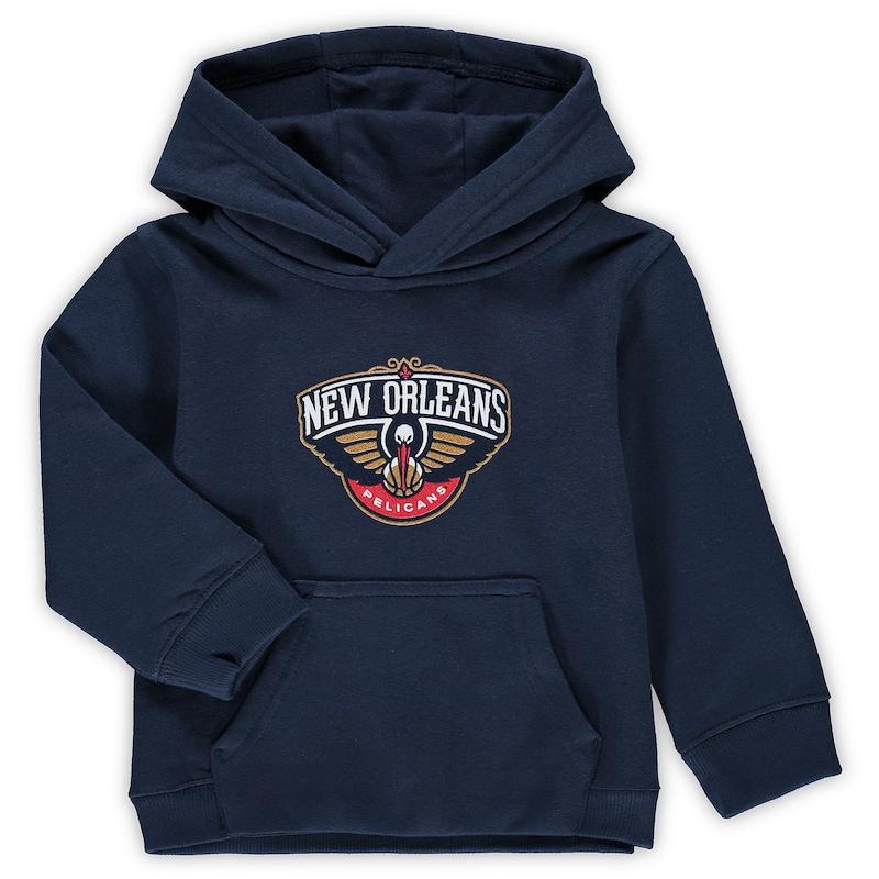 New Orleans Pelicans Preschool & Toddler Primary Logo Pullover Hoodie - Navy