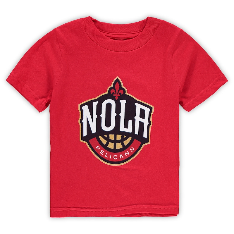 New Orleans Pelicans Toddler Primary Logo T-Shirt - Red