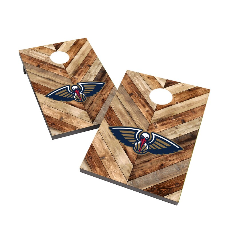 New Orleans Pelicans 2' x 3' Cornhole Board Tailgate Toss Set