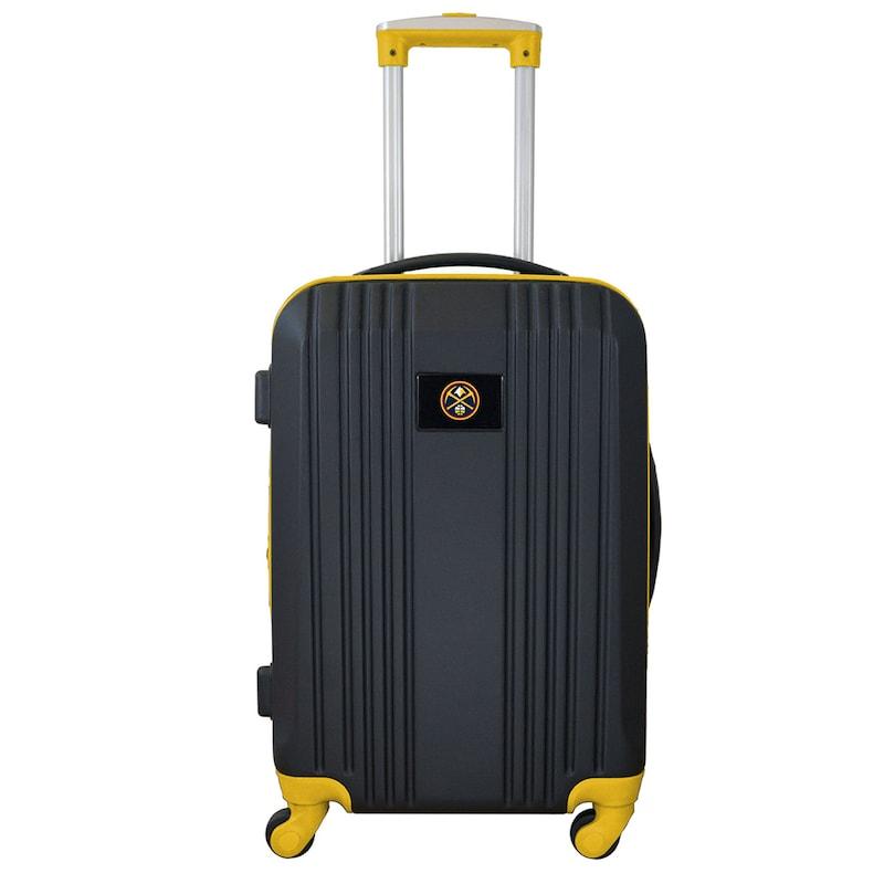"Denver Nuggets 21"" Hardcase Two-Tone Spinner Carry-On - Black"