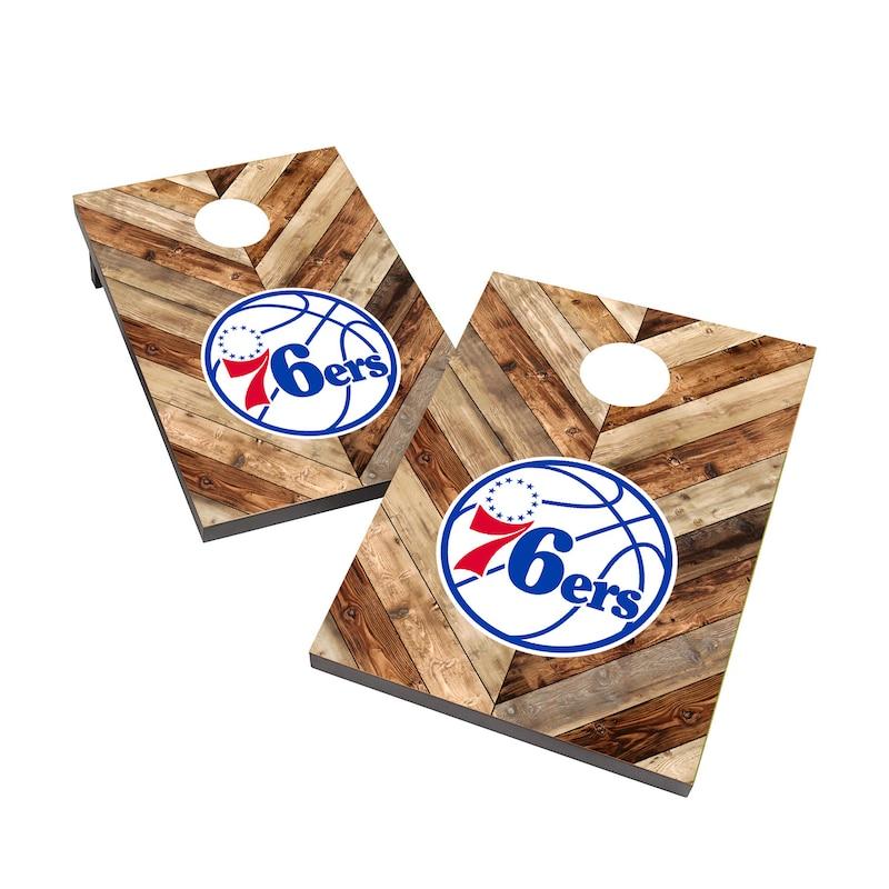Philadelphia 76ers 2' x 3' Cornhole Board Tailgate Toss Set